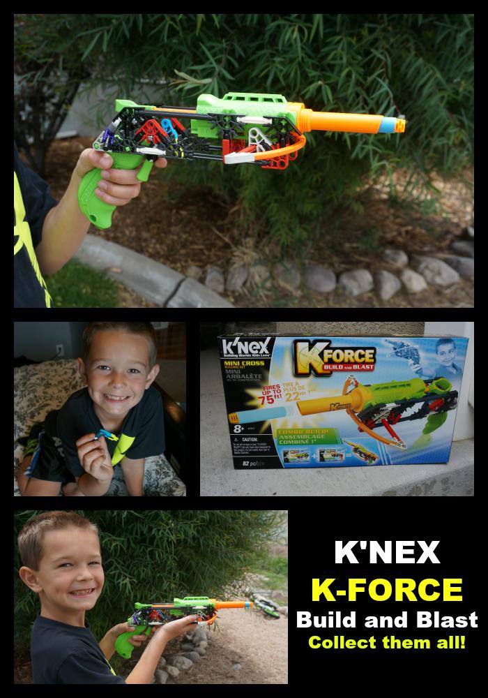 Knex KForce Blasters