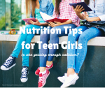 Is She Getting Enough Calcium? Nutrition Tips For Teen Girls