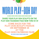 YOU ARE INVITED to World Play-Doh Day! Here's How To Join the Fun