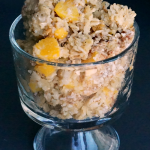 Peach Almond Baked Oatmeal Breakfast Recipe