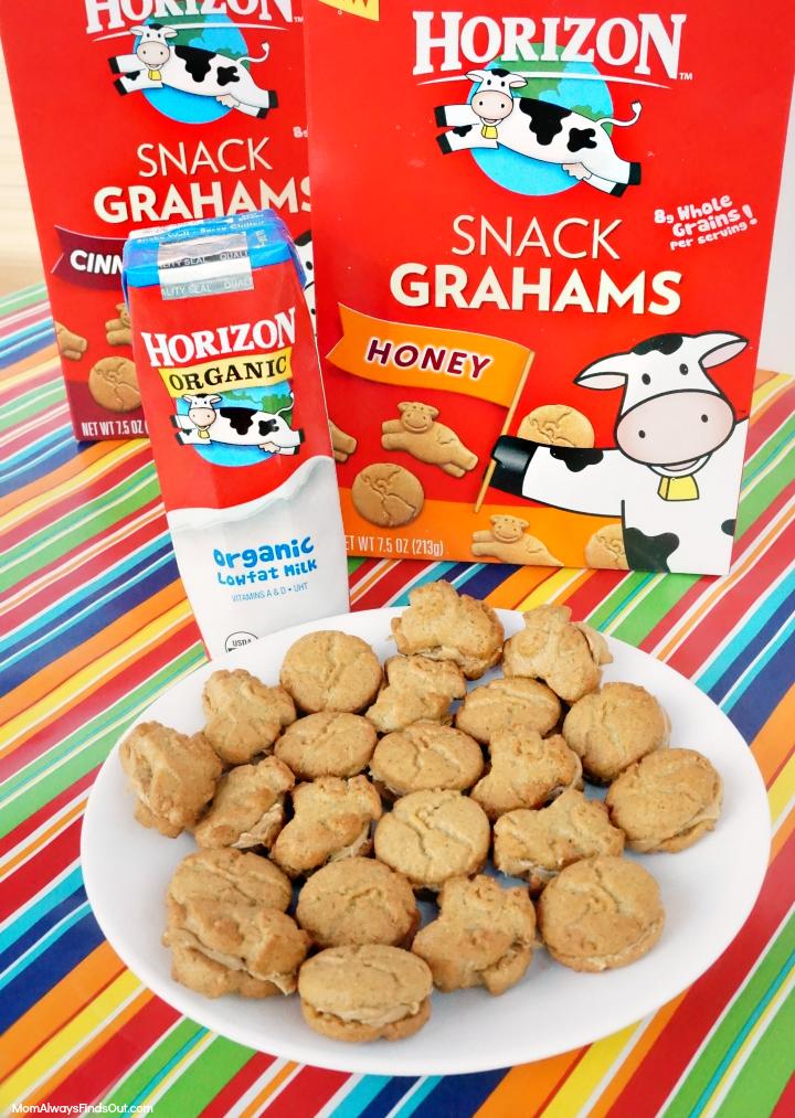 horizon organic snack crackers