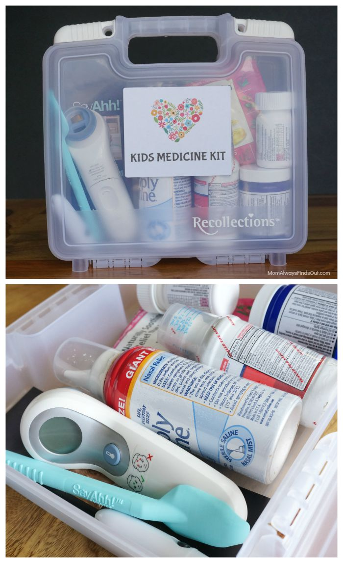 kids medicine kit