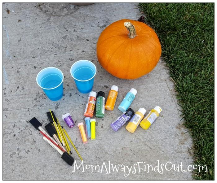 pumpkin-painting-supplies