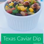 Texas Caviar Black Eyed Peas Dip Recipe
