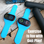 Exercise and Play Video Games at the Same Time! #GetUpandGojiPlay