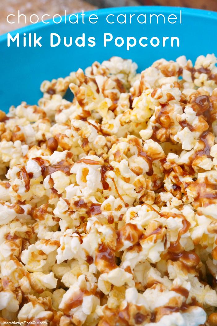 milk duds popcorn
