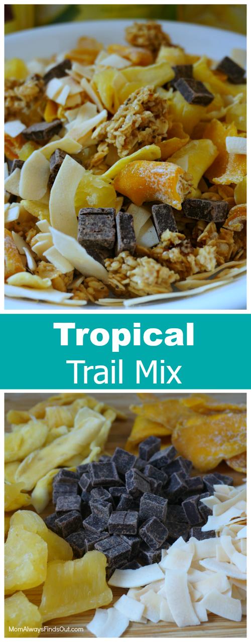tropical trail mix recipe