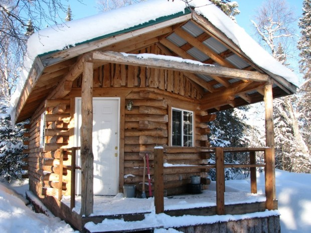cabin byers lake ak