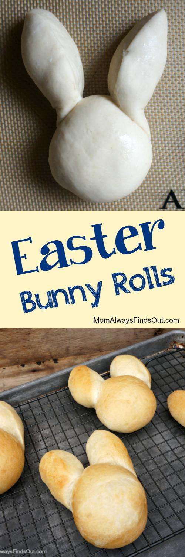 easter bunny rolls frozen