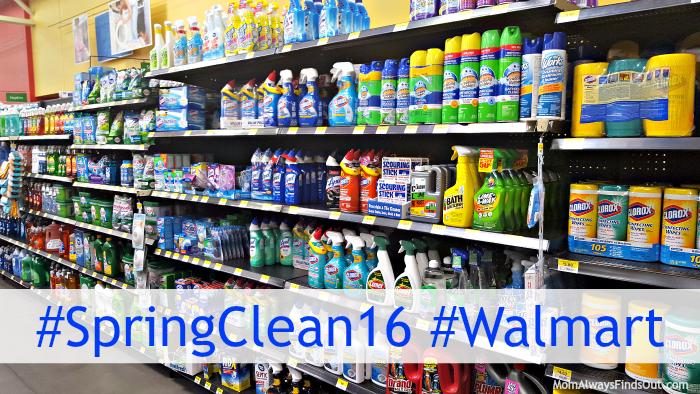 spring clean walmart
