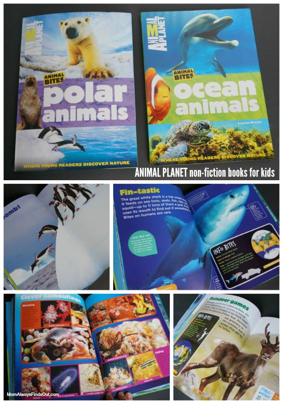 Animal Planet Animal Bites Books