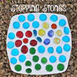 DIY Mosaic Art Stepping Stones