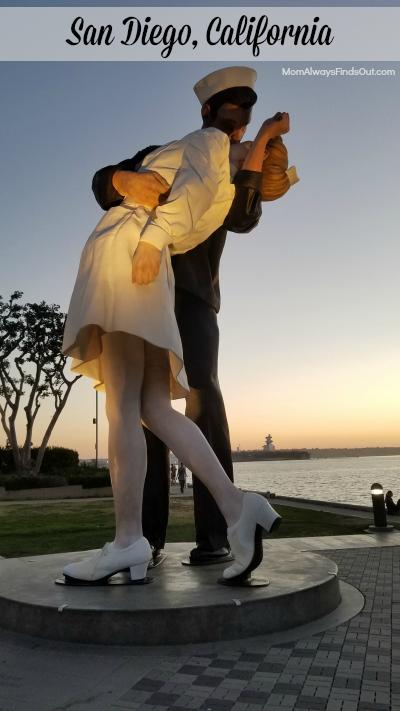 San Diego CA Statue