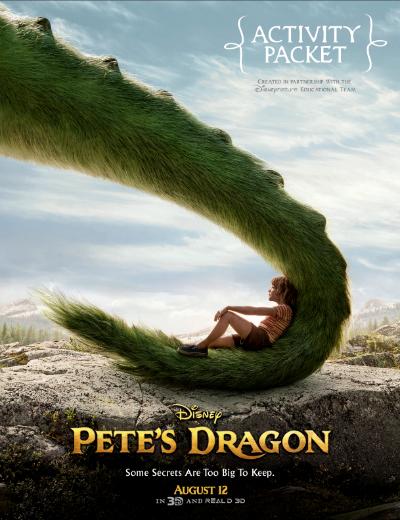 petes dragon activity packet