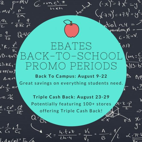 Ebates Back-To-School shopping tips
