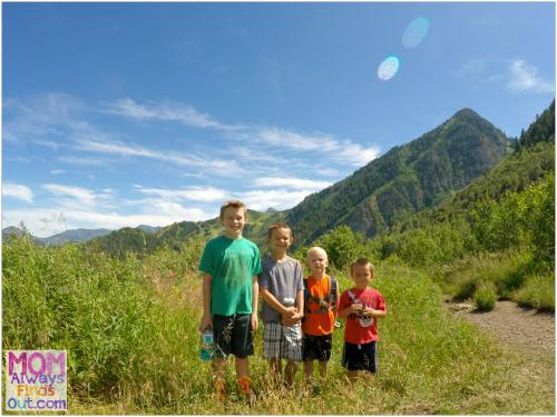 Utah hikes - Stewart Falls
