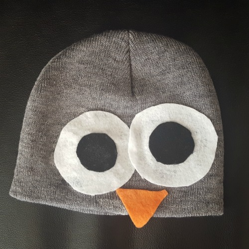 DIY Owl Costume Beanie
