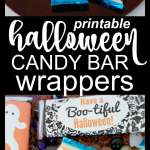 Free Halloween Printable Candy Bar Wrappers
