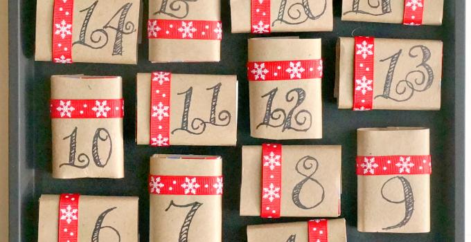 Advent Calendar Ideas   DIY Magnetic Matchboxes Christmas Calendar