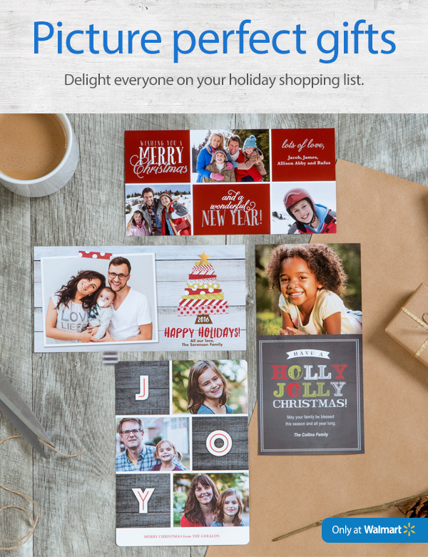 Create #PicturePerfectGifts at Walmart