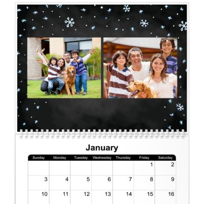 Now everyone can create their own photo calendar. You have the choice of using one of our calendar templates for your custom photo calendar or upload your own photos to make a calendar for friends, family or promotional calendars for your business. Make a photo calendar with your own photos.
