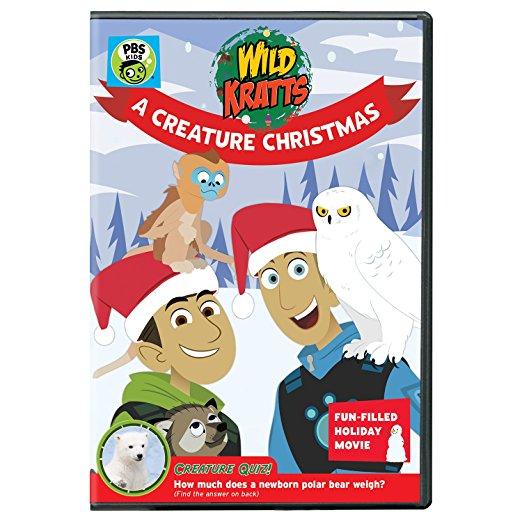 PBS Kids Series WILD KRATTS CREATURE CHRISTMAS on DVD