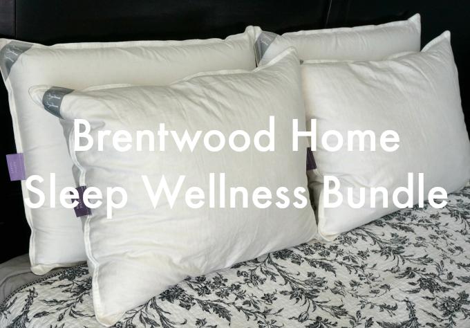 Brentwood Home Sleep Wellness Bundle Pillows