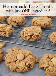 Homemade dog treats recipe made with Luvsome dog food