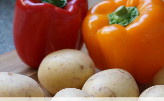 Kielbasa Recipes: Kielbasa Potatoes and Peppers Skillet