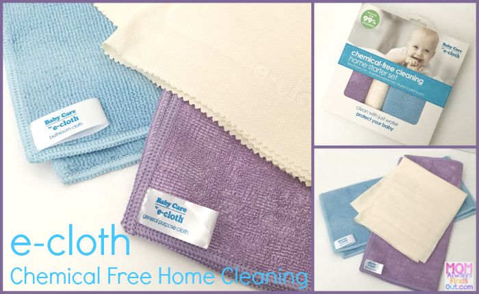 e cloth home cleaning baby care starter set