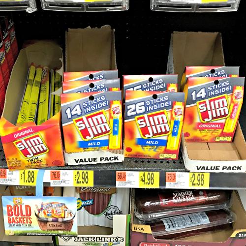 Slim Jim Walmart #SlimJimBoldBaskets