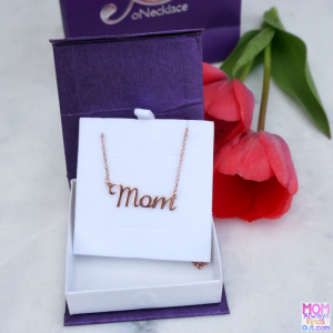 Mom Name Necklace - Personalized Jewelry at oNecklace