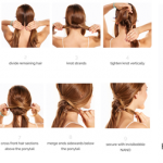 How To Do Easy Summer Hairstyles with Invisibobble Hair Rings