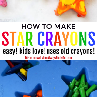 How To Melt Crayons into New Crayon Shapes Craft