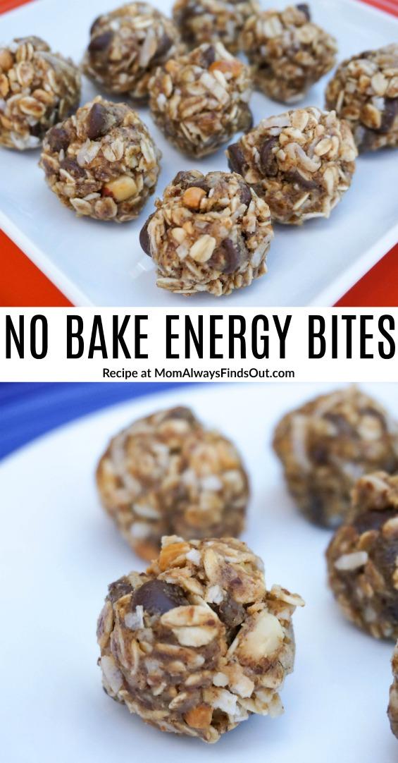 No Bake Energy Bites Recipe - Kid Approved!