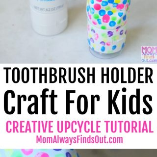 Tom's Silly Strawberry Toothpaste Tube Craft - Creative Ways To Upcycle