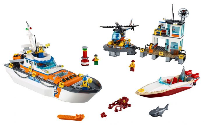 LEGO City Coast Guard Headquarters Set