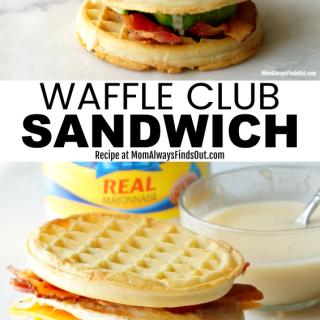 Waffle Club Sandwich Recipe - Sandwich Ideas
