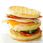 Waffle Sandwich Recipe - Delicious Waffle Club Sandwich Ideas