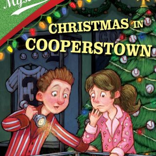 Christmas in Cooperstown Ballpark Mysteries chapter books for kids