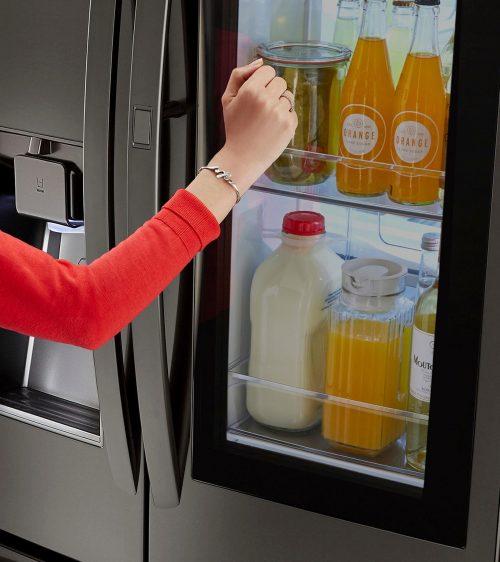 LG Instaview Refrigerator Door
