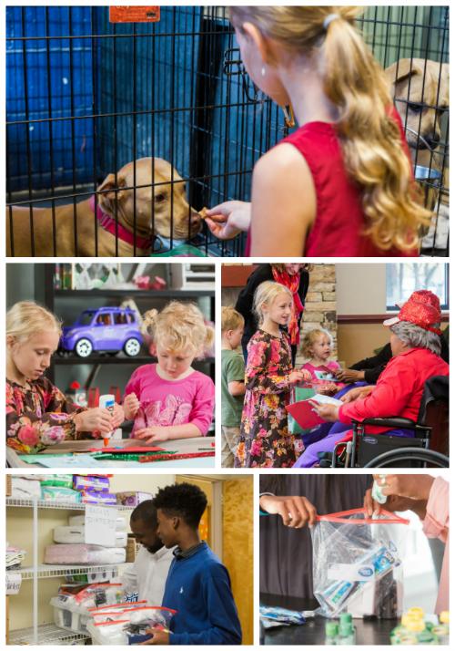 Family Service Project Ideas - Family Volunteer Day #FamilyVolunteerDay