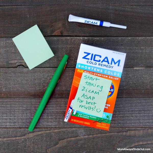 Zicam Cold Remedy Nasal Swabs #ZicamCrowd Get Well Gift Ideas