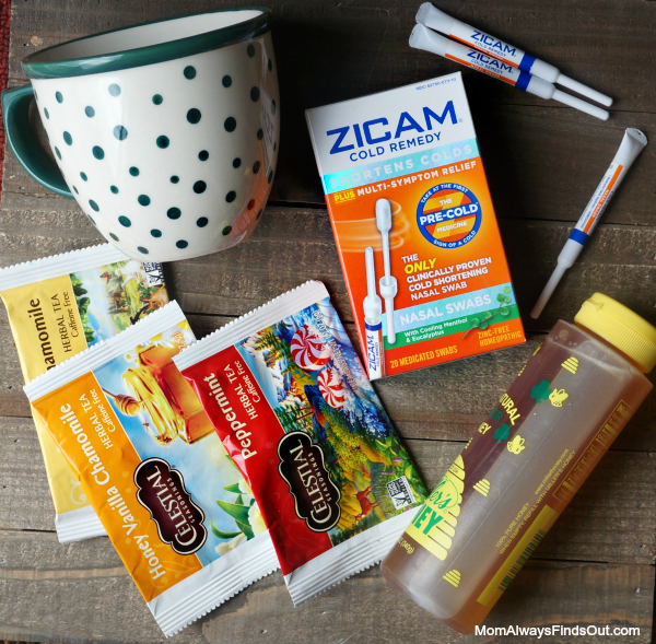 Create a quick and easy Get Well Gift with Zicam Cold Remedy - #ZicamCrowd