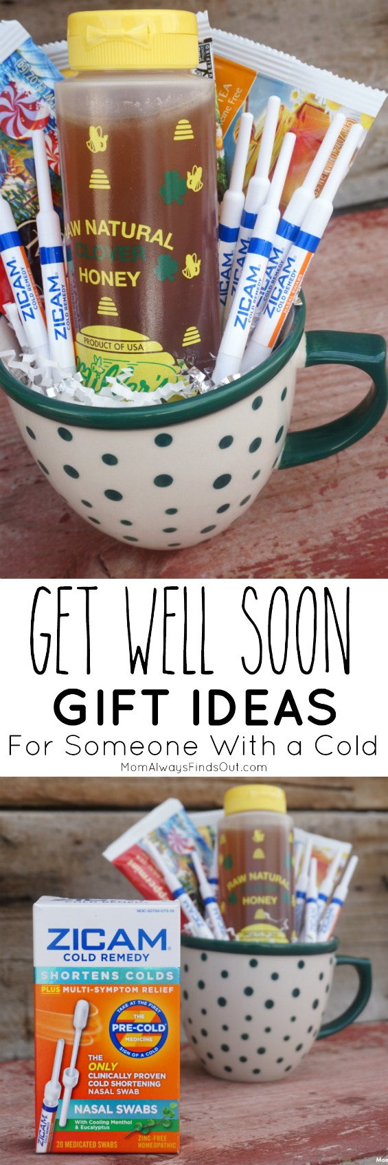 Get Well Soon Gifts For a Cold with Zicam Cold Remedy #ZicamCrowd