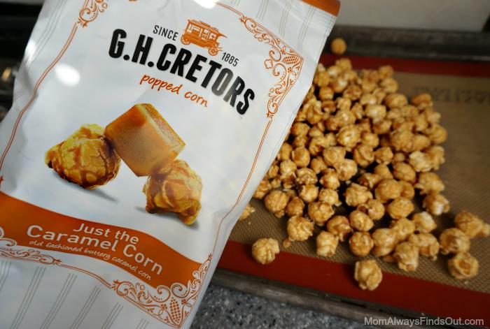gh cretors caramel corn