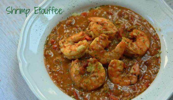 Cajun Shrimp Etoufee Recipe #MardiGrasIdeas