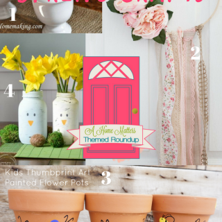 The spring season is just around the corner with all its freshness and beauty. Let your creativity be inspired by these fun and fabulous ideas to make the most of your home this spring. Plus link up at Home Matters with recipes, DIY, crafts, decor.#SpringSeason #HomeMattersParty