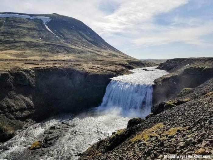Porufuss Waterfall (Iceland)