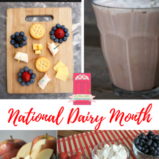 It's National Dairy Month and we've got goodness galore for everything dairy -- eggs, milk, cheese, yogurt. Plus, link up at Home Matters with recipes, DIY, crafts, decor. #Dairy #HomeMattersParty